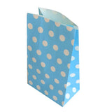 Polka Dot paper bags - 12 ct - no handles (click for more colors)