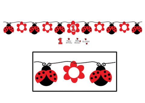 ladybug banner my little party shop