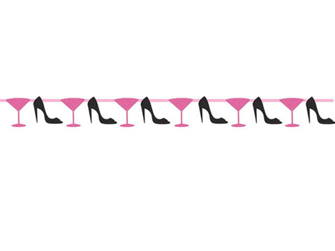 Martini and Heels Jointed Banner