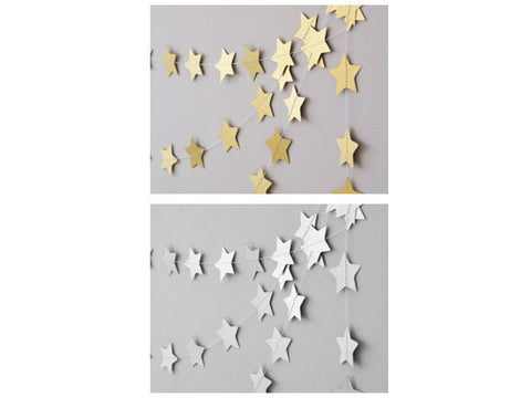 Shiny Stars Garland (click for more colors)