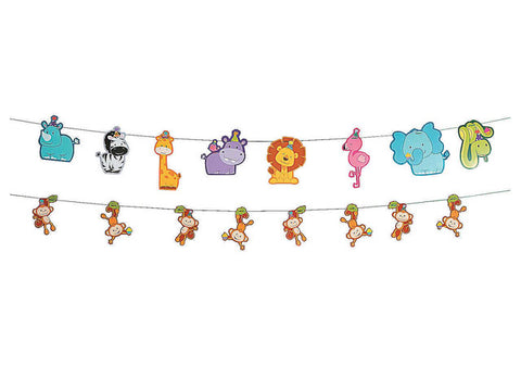 Zoo Birthday Garland