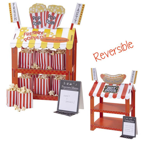 Reversible Hotdog or Popcorn Stand