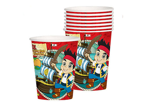 Jake and the Neverland Pirates Paper Cups (8 ct)