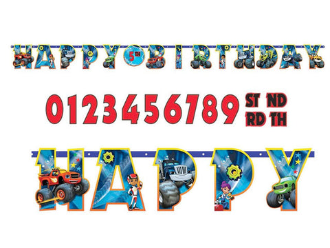 Blaze and the Monster Machines Add-an-Age Jointed Banner