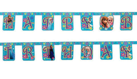 Frozen Birthday Jointed Banner