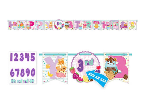 Num Noms Add-an-Age Birthday Banner