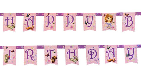 Sofia the First Birthday Jointed Banner