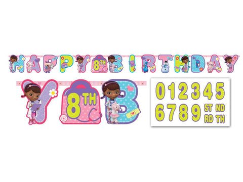 Doc Mcstuffins Add-an-Age Jointed Banner
