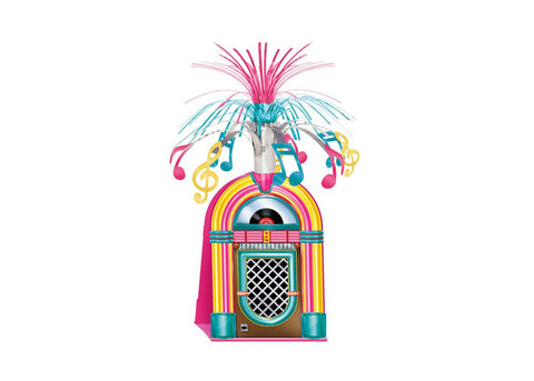Rock n Roll Jukebox Table Centerpiece