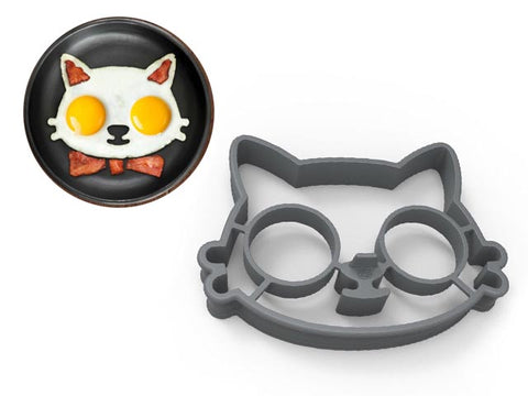 Kitty Cat egg mold