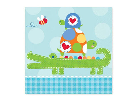 Ahoy Baby Boy Shower Lunch Napkins