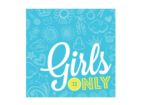Girls Only Lunch Napkins