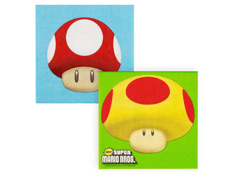 Mario Brothers Lunch Napkins