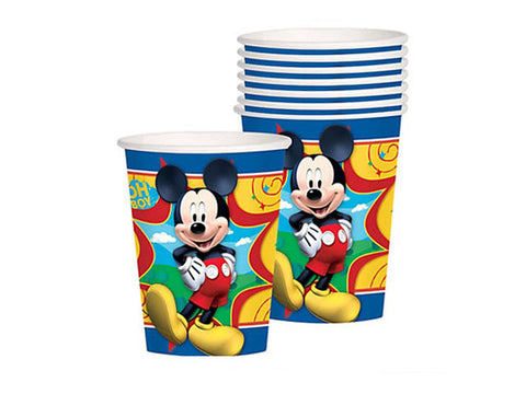 Mickey Mouse Paper Cups (8 ct)