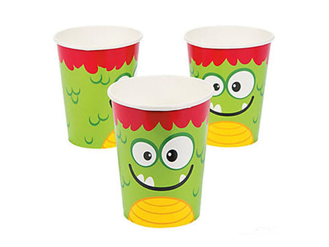Mini Monsters Paper Cups (8 ct)