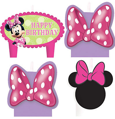 Minnie Bowtique Birthday Candle