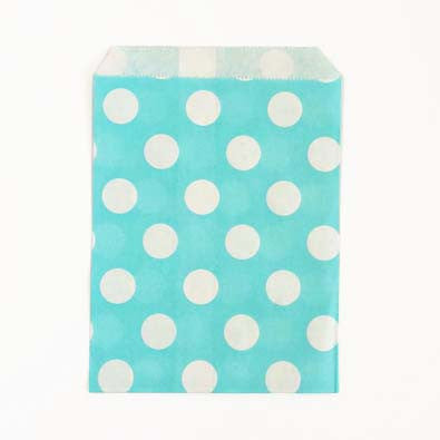 Polka Dots Paper Treat Bags - 12 ct - (click for more colors)