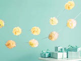 Tissue Pom Garland (click for more colors)