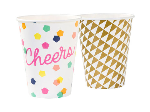 Party Time Paper Cups (12 ct)