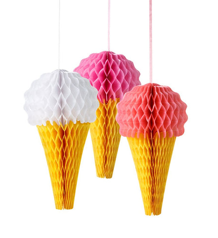 Ice Cream Cone Lanterns