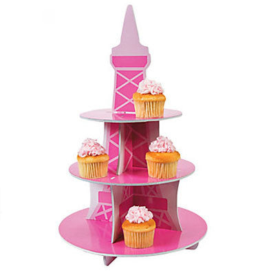 Eiffel Tower Cupcake Stand