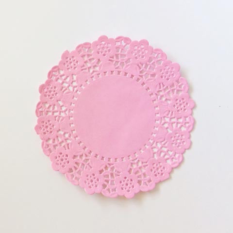 Colored Paper Doilies - 4.5 inches (click for more colors)