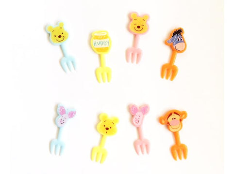 Pooh and Friends Fork Picks