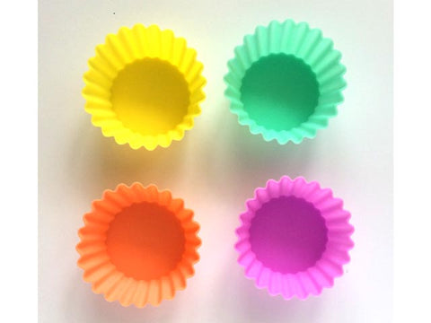 Silicone Cups - large round