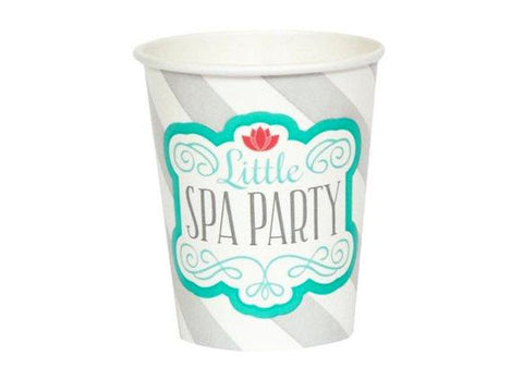 Spa Party Paper Cups (8 ct)