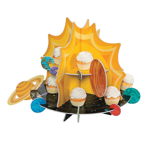 Space Party Cupcake Stand