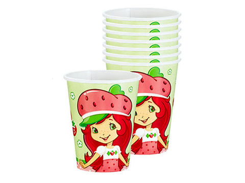 Strawberry Shortcake Paper Cups (8 ct)