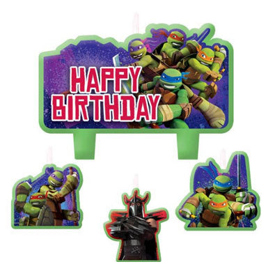 Teenage Mutant Ninja Turtles Birthday Candle