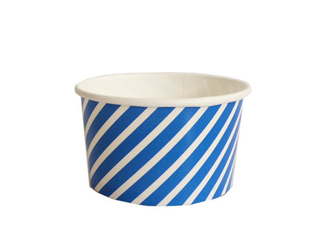 Blue Stripes treat cups