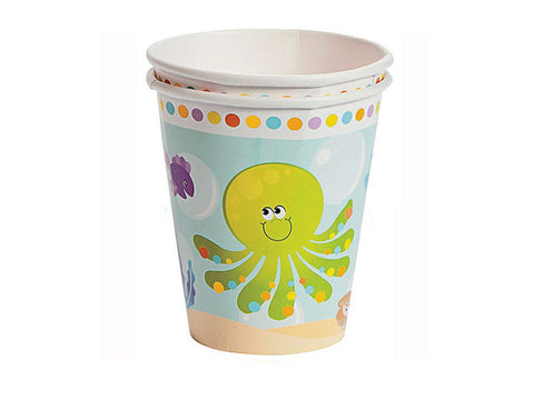 Under the Sea Paper Cups (8 ct)