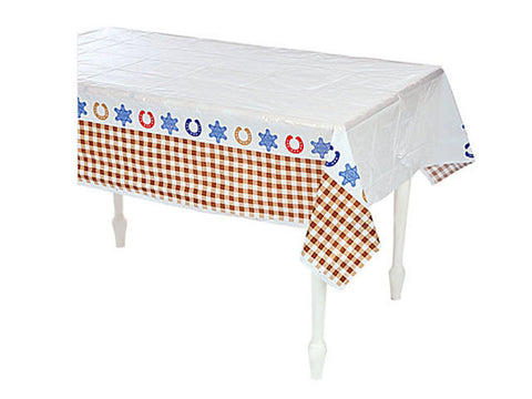 Western Cowboy Table Cover