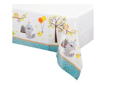 Woodland Birthday Table Cover