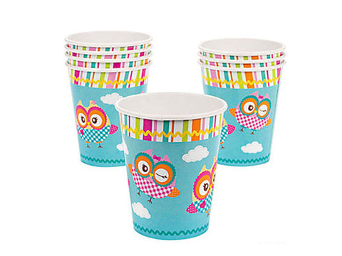 You're a Hoot Owl Paper Cups (8 ct)