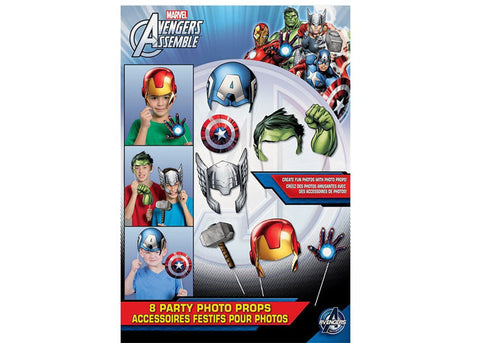 Avengers Photo Booth prop sticks