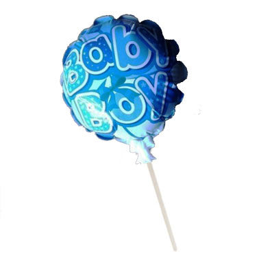 Boy Baby Shower Self-Inflating Foil Balloon