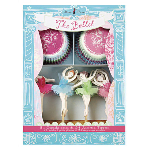 Dancing Ballerinas Cupcake Kit