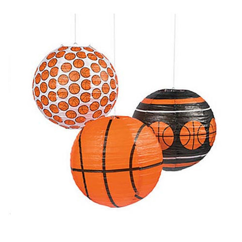 Basketball Party Paper Lanterns