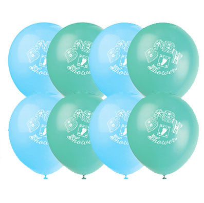 Boy Baby Shower Latex Balloons