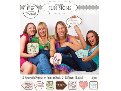 Bridal Shower Fun Signs