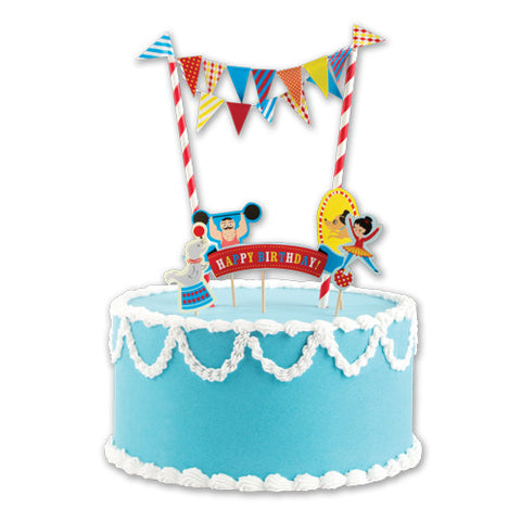 Big Top Circus Cake Decorating Kit