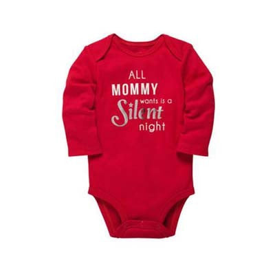 All Mommy Wants for Christmas Longsleeves bodysuit