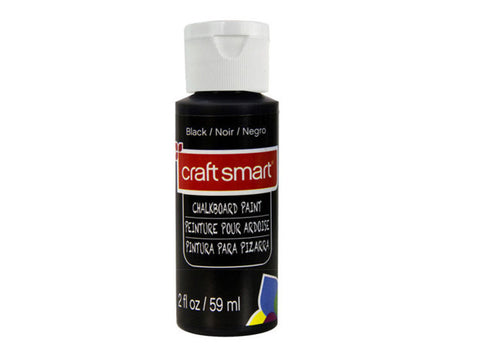 Craft Smart Chalkboard paint - 2oz.