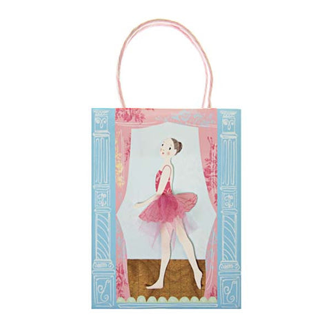 Dancing Ballerinas Paper Bag