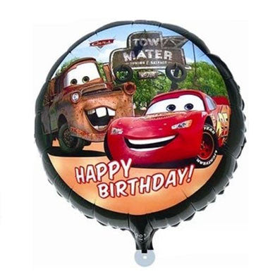 Disney Cars Birthday Foil balloon