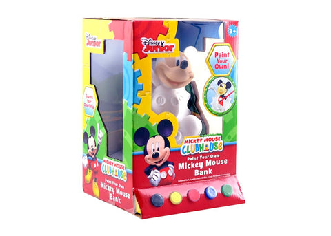 Disney Paint Your Own Mickey Mouse Coin Bank Kit
