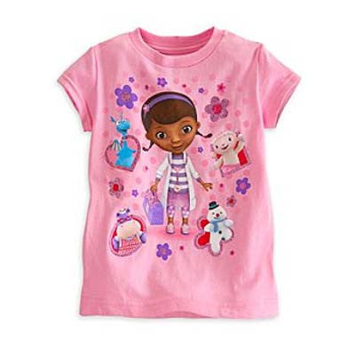 Doc Mcstuffins and Friends tee